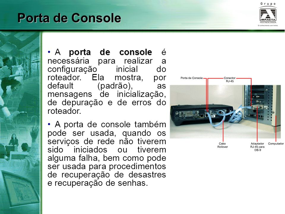 Porta de Console