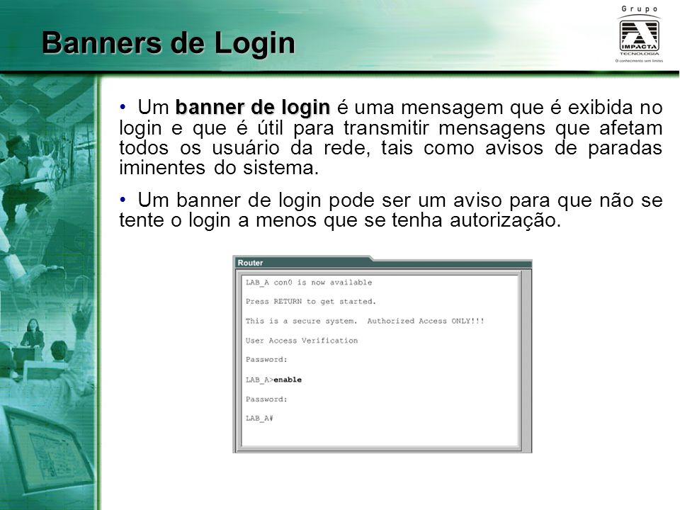 Banners de Login