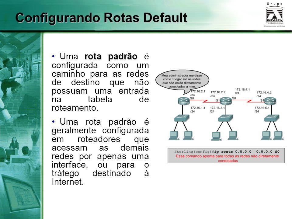 Configurando Rotas Default