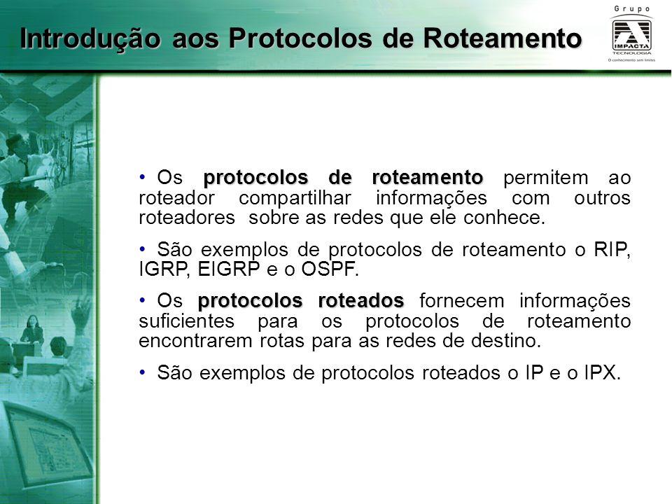 Introdução aos Protocolos de Roteamento