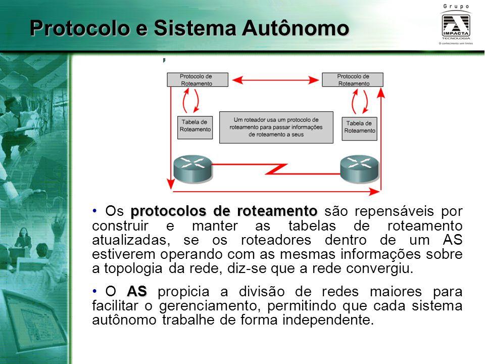 Protocolo e Sistema Autônomo