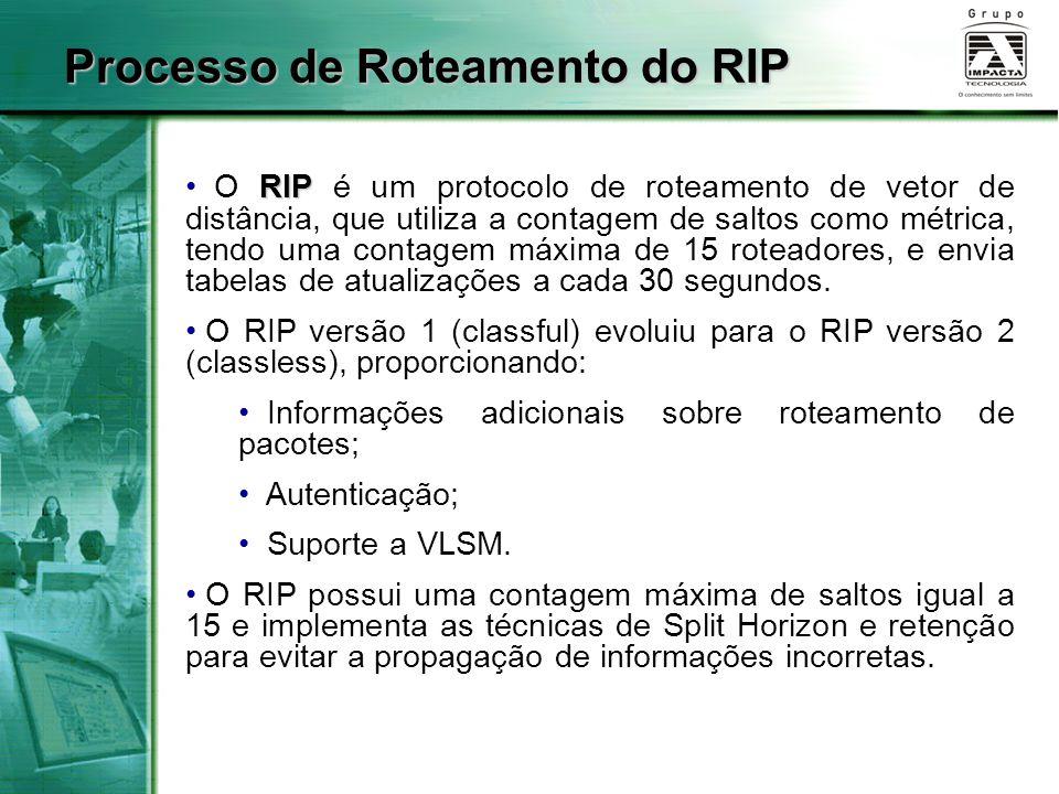 Processo de Roteamento do RIP