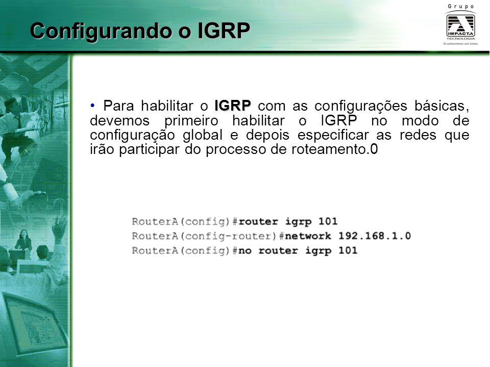 Configurando o IGRP