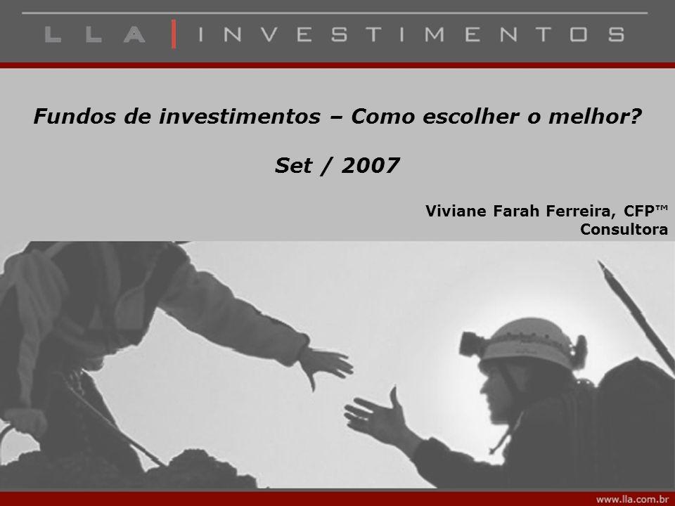 Fundos de investimentos – Como escolher o melhor