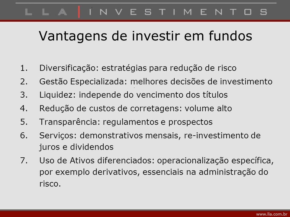 Vantagens de investir em fundos