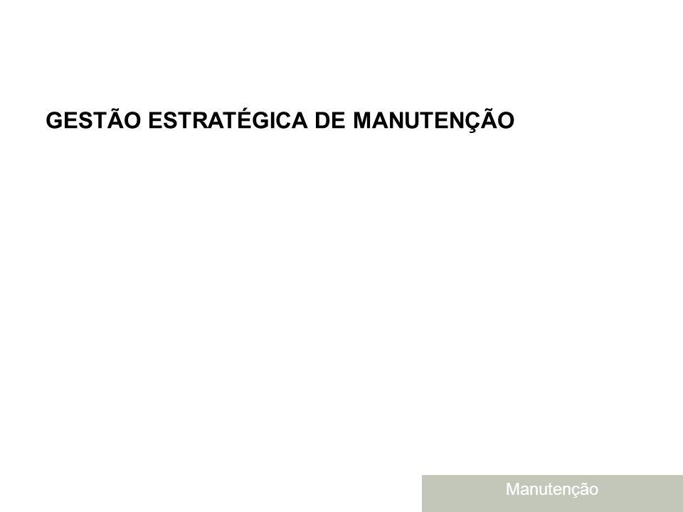 GESTÃO ESTRATÉGICA DE MANUTENÇÃO
