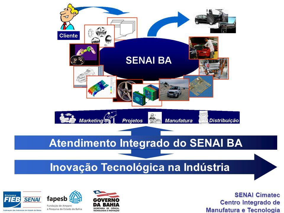 Atendimento Integrado do SENAI BA Inovação Tecnológica na Indústria