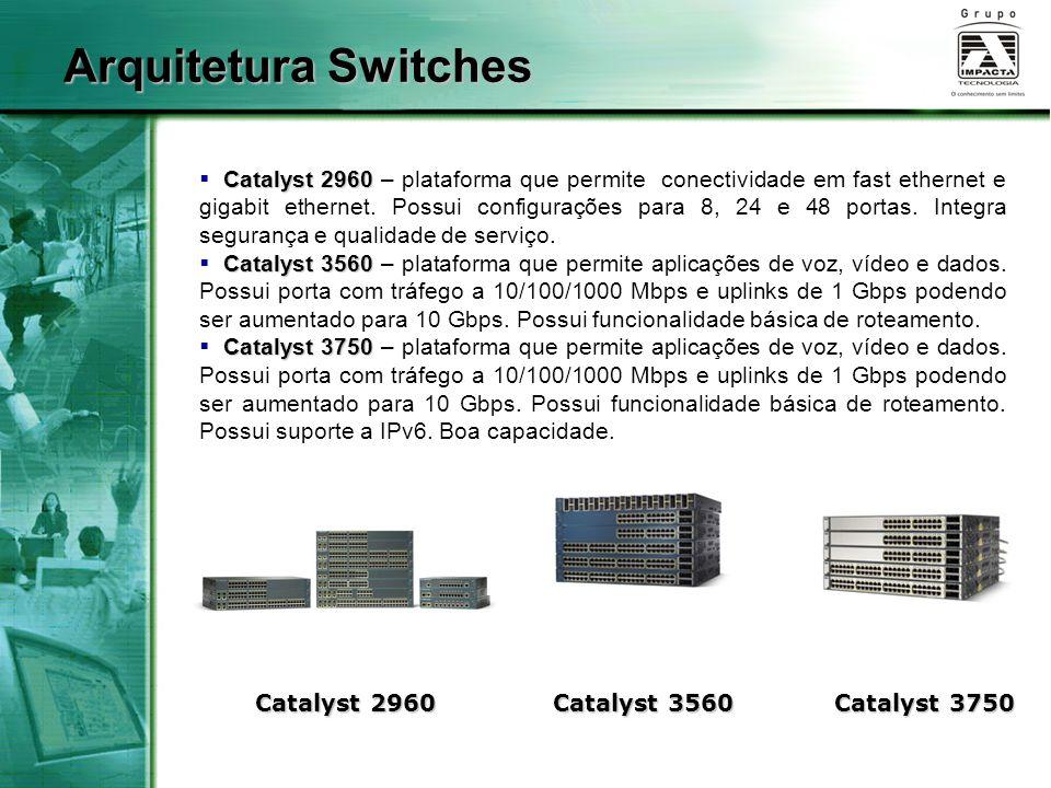 Arquitetura Switches