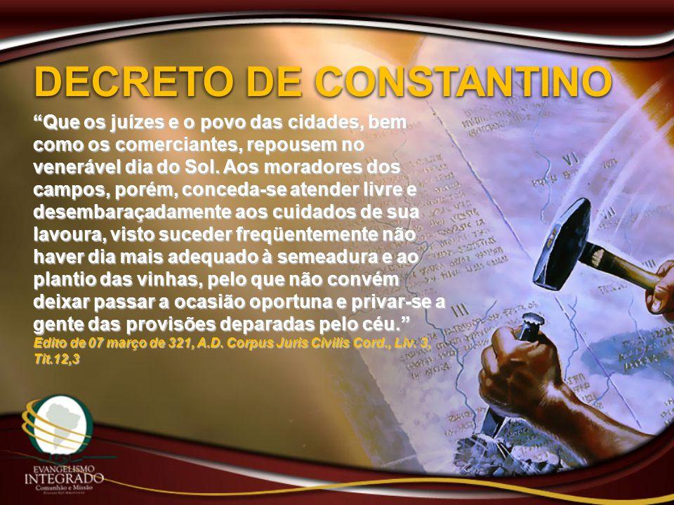 DECRETO DE CONSTANTINO
