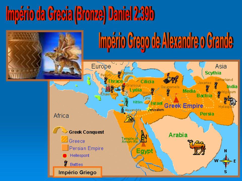 Império da Grecia (Bronze) Daniel 2:39b