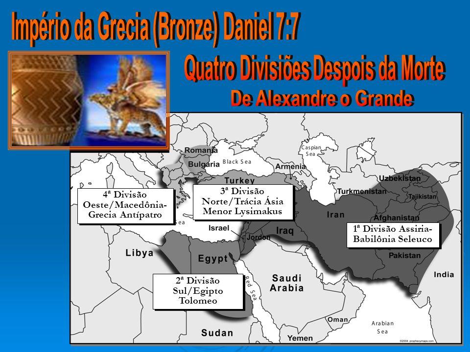 Império da Grecia (Bronze) Daniel 7:7