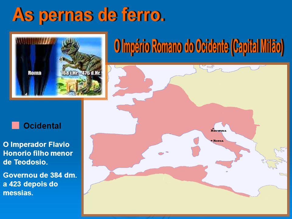 O Império Romano do Ocidente (Capital Milão)