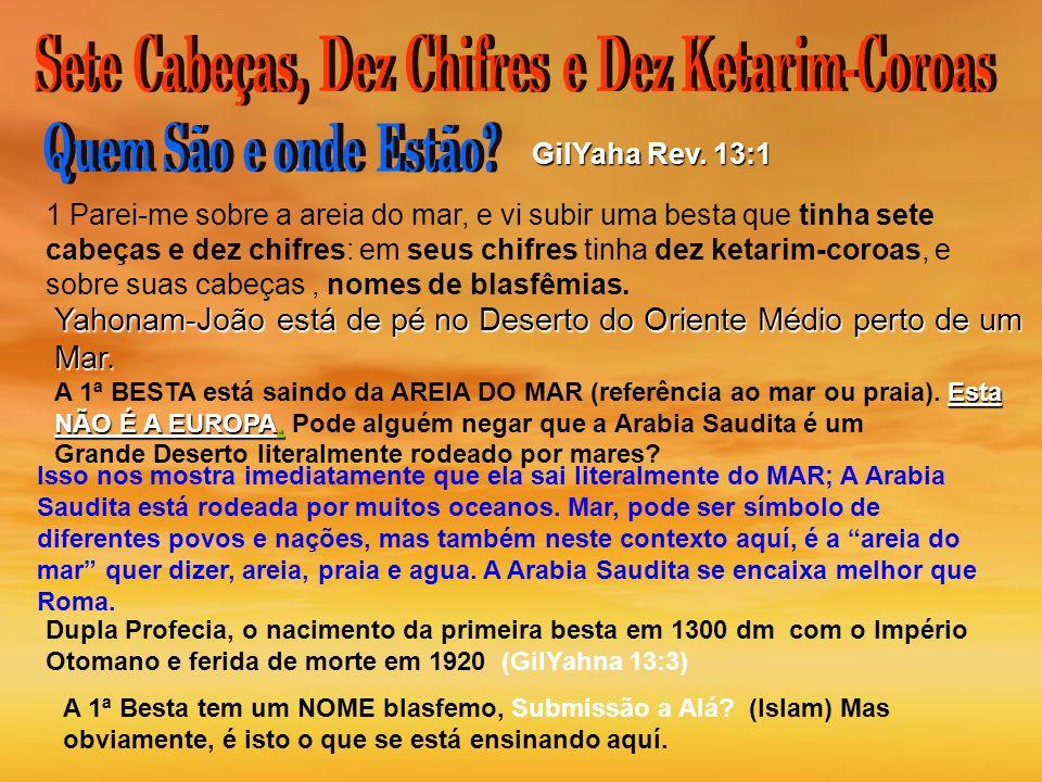 Sete Cabeças, Dez Chifres e Dez Ketarim-Coroas