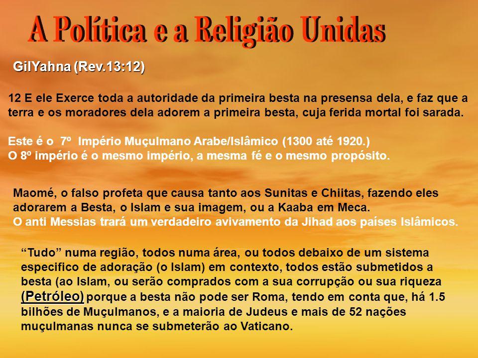 A Política e a Religião Unidas