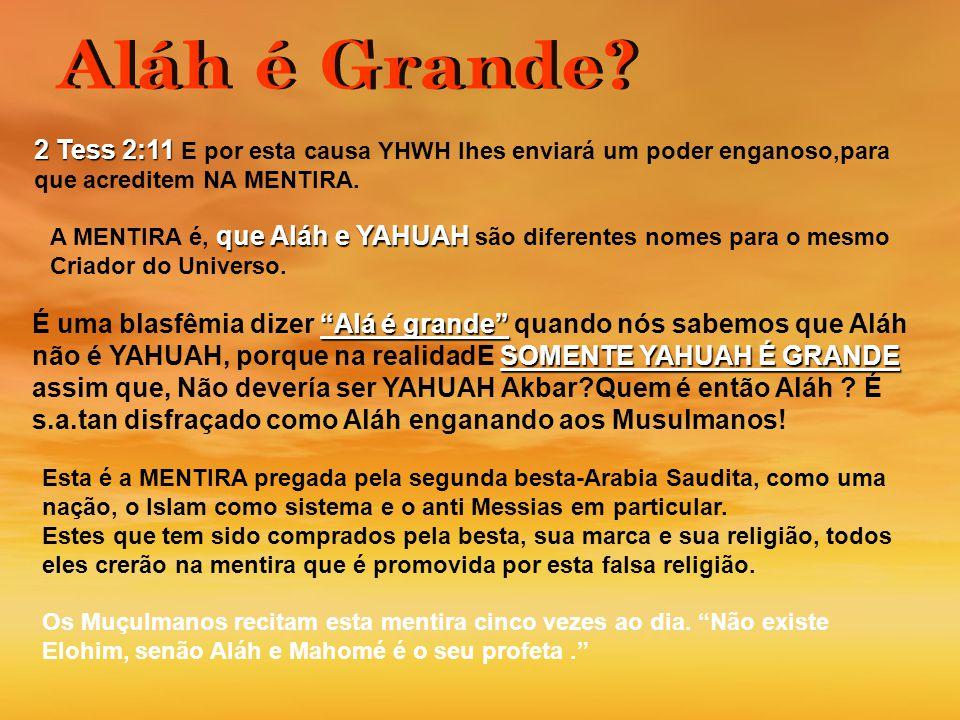 2 Tess 2:11 E por esta causa YHWH lhes enviará um poder enganoso,para