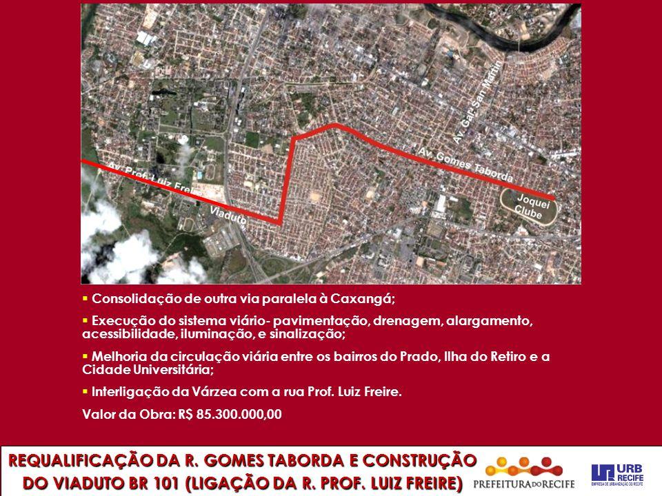 REQUALIFICAÇÃO DA R. GOMES TABORDA E CONSTRUÇÃO