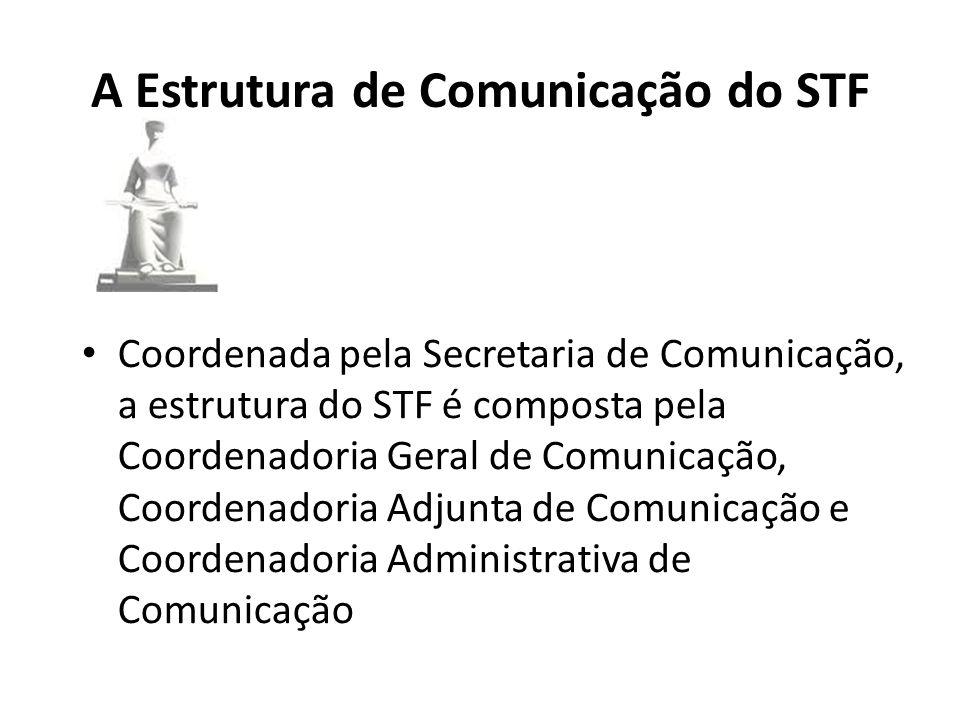 A Estrutura de Comunicação do STF
