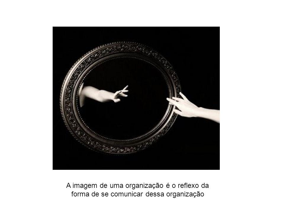 A imagem de uma organização é o reflexo da forma de se comunicar dessa organização