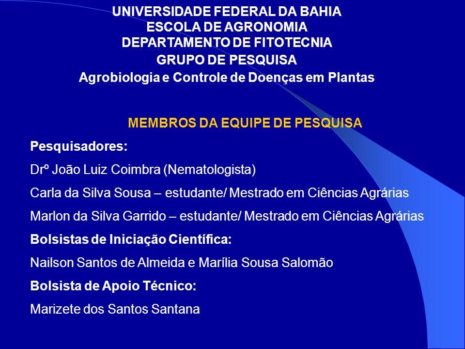 Agrobiologia e Controle de Doenças em Plantas