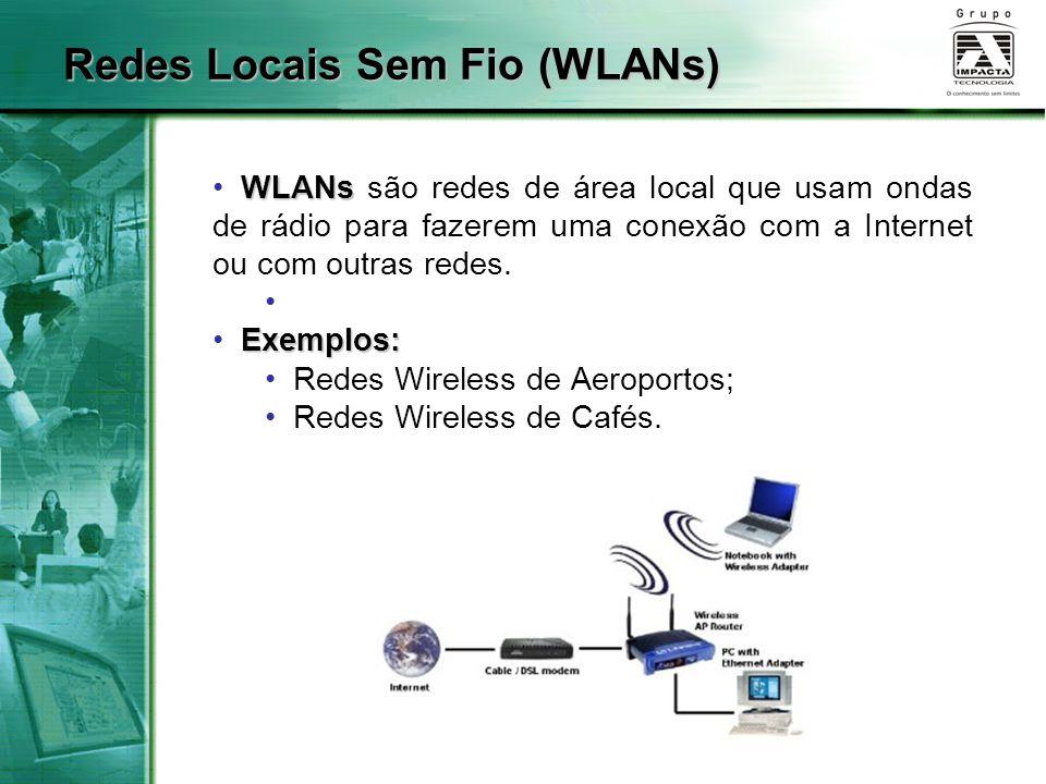 Redes Locais Sem Fio (WLANs)
