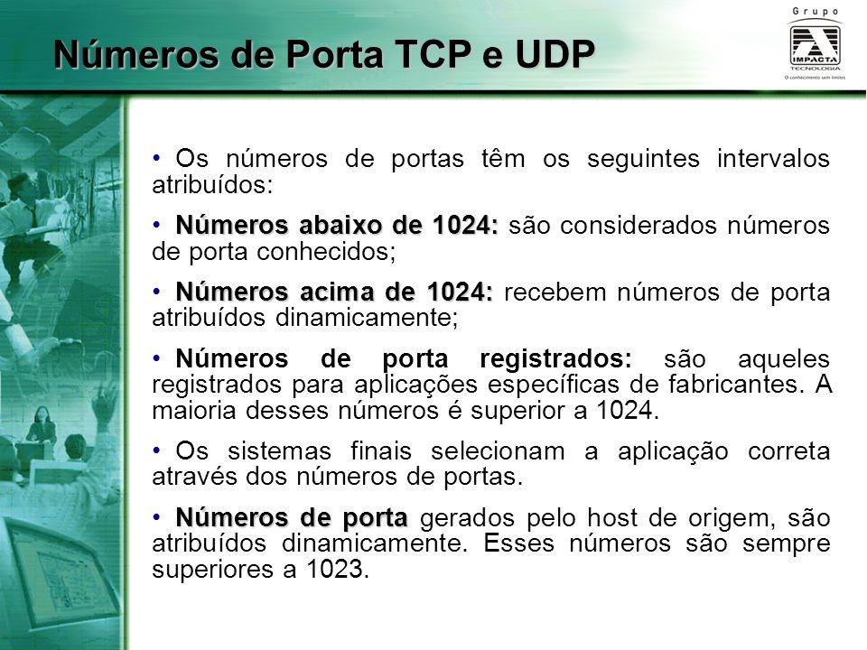 Números de Porta TCP e UDP