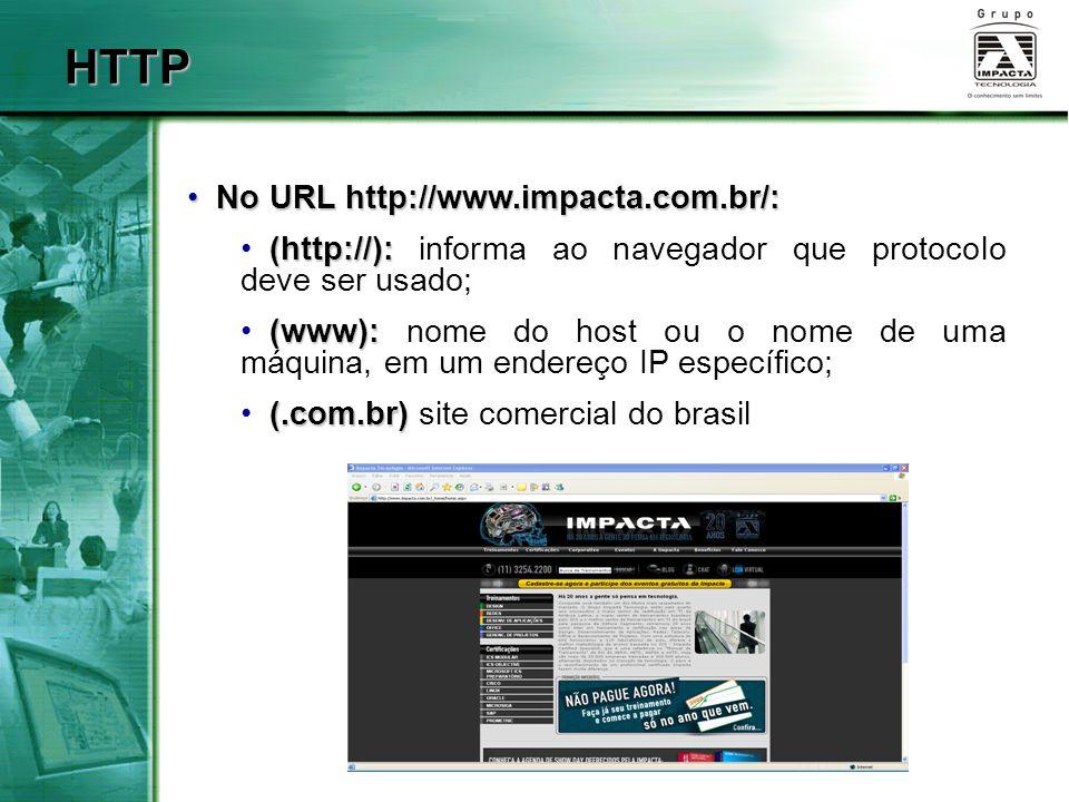 HTTP No URL http://www.impacta.com.br/: