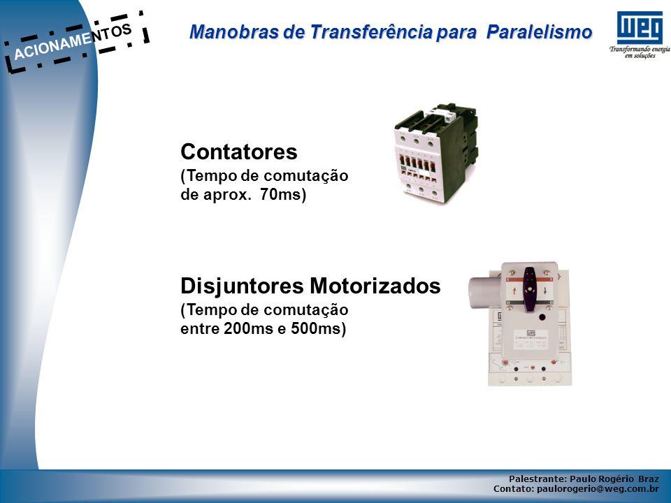 Disjuntores Motorizados