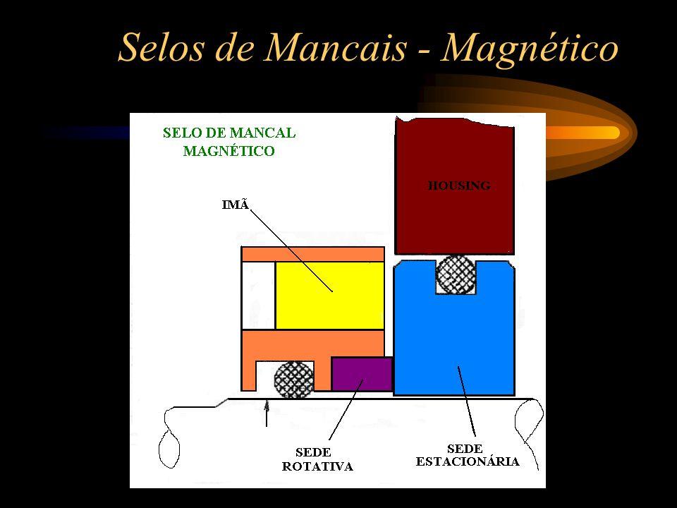 Selos de Mancais - Magnético