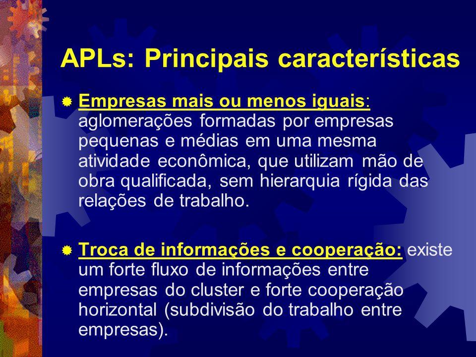 APLs: Principais características