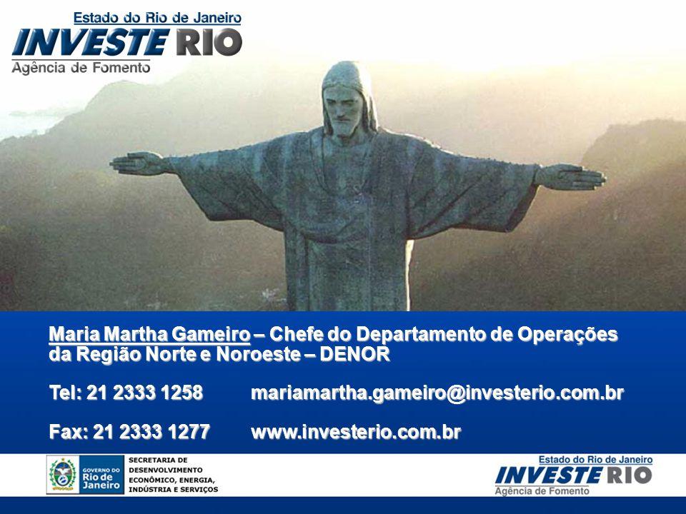 Maria Martha Gameiro – Chefe do Departamento de Operações da Região Norte e Noroeste – DENOR