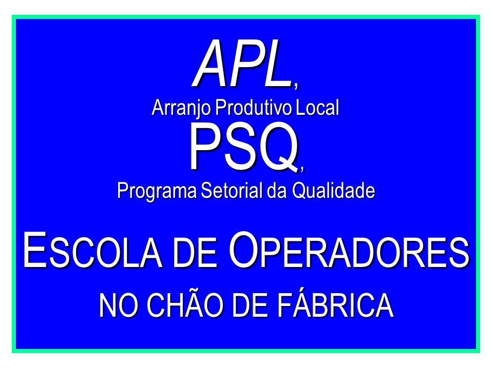 APL, PSQ, ESCOLA DE OPERADORES NO CHÃO DE FÁBRICA