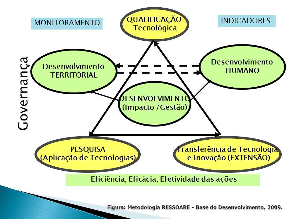 Figura: Metodologia RESSOARE - Base do Desenvolvimento, 2009.