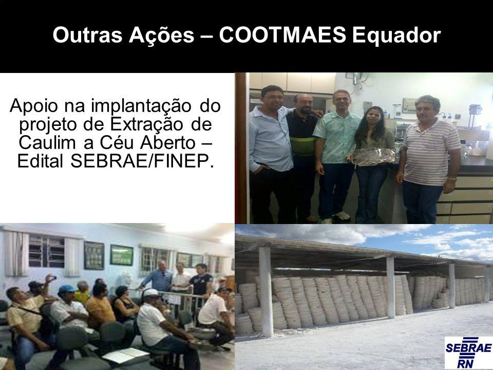Outras Ações – COOTMAES Equador