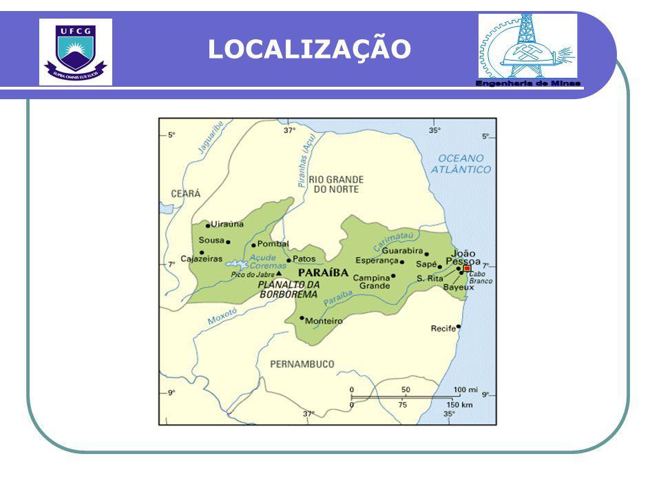 Engenharia de Minas LOCALIZAÇÃO