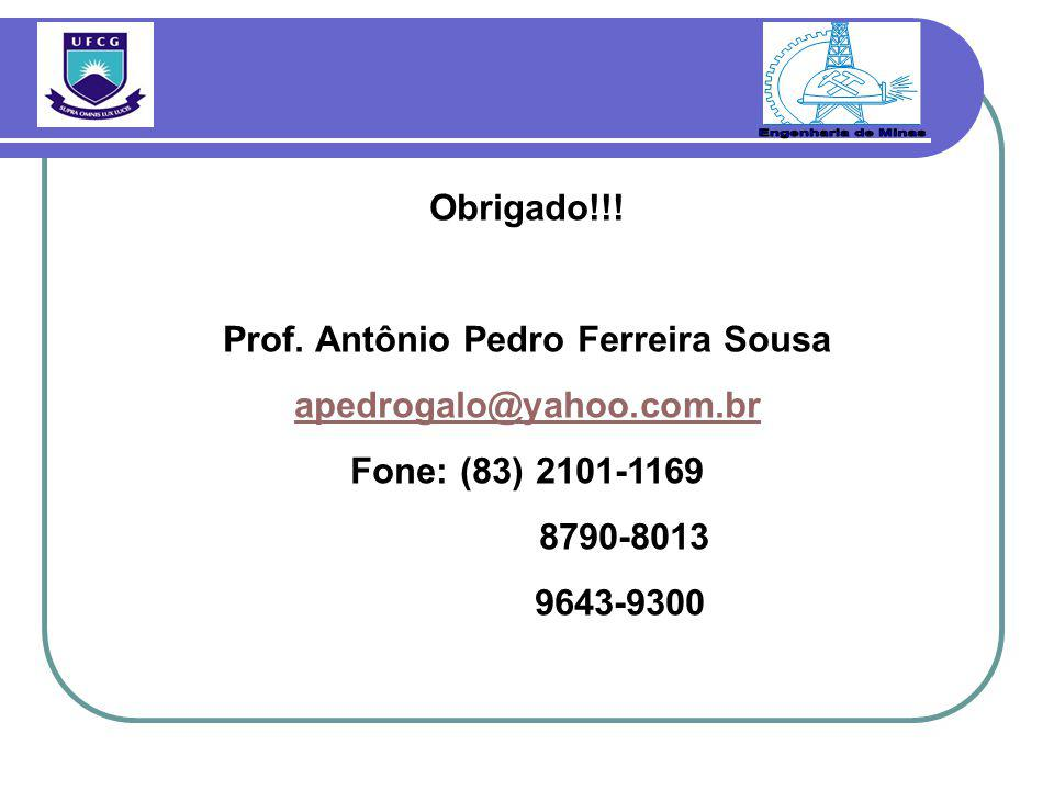 Prof. Antônio Pedro Ferreira Sousa