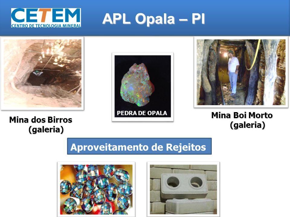 Mina Boi Morto (galeria) Mina dos Birros (galeria)