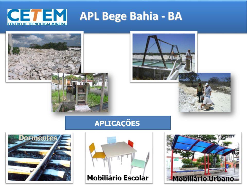APL Bege Bahia - BA APLICAÇÕES Dormentes Mobiliário Escolar