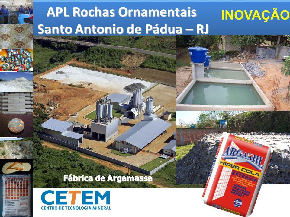 APL Rochas Ornamentais Santo Antonio de Pádua – RJ