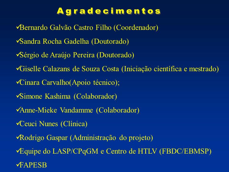 Agradecimentos Bernardo Galvão Castro Filho (Coordenador)