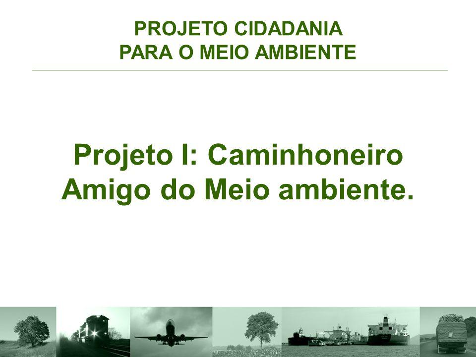 Projeto I: Caminhoneiro Amigo do Meio ambiente.