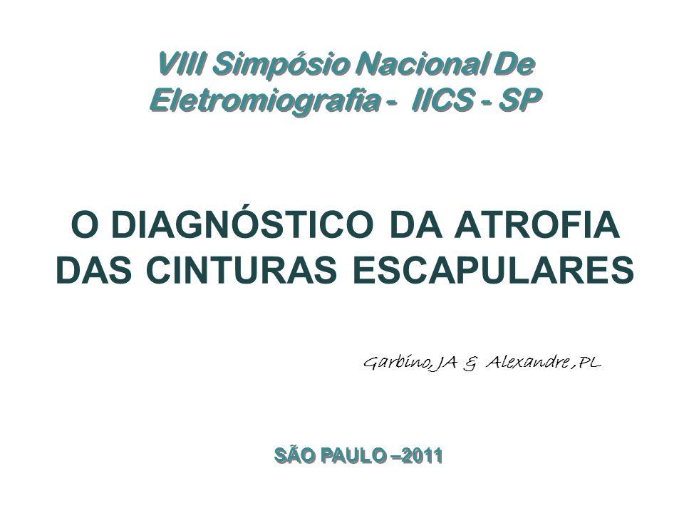 VIII Simpósio Nacional De Eletromiografia - IICS - SP