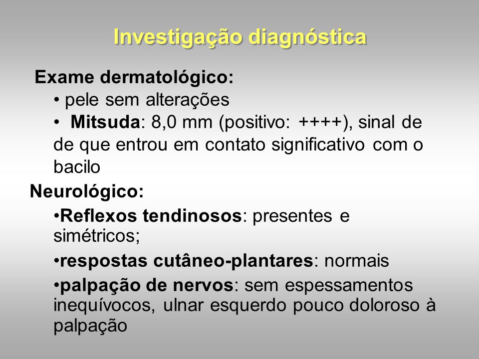 Investigação diagnóstica