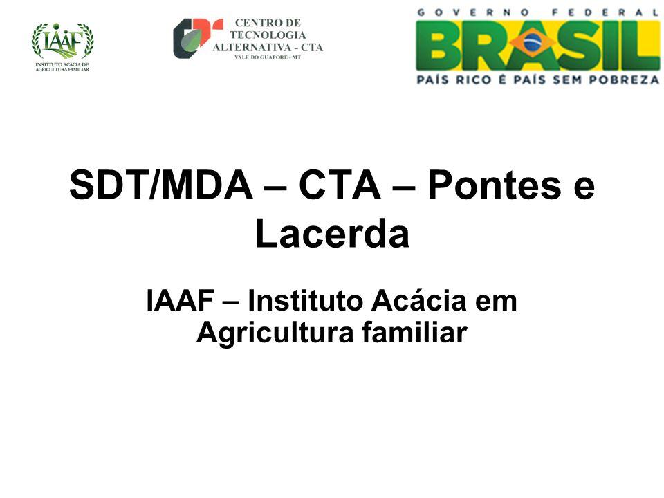 SDT/MDA – CTA – Pontes e Lacerda