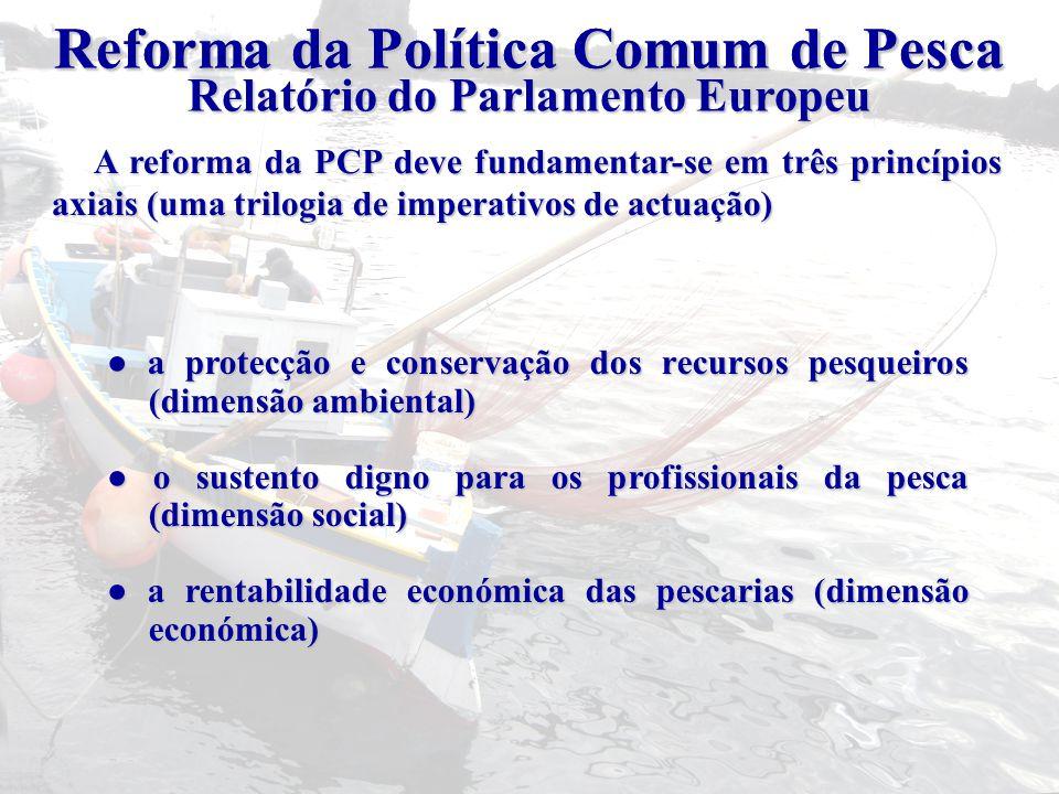 Reforma da Política Comum de Pesca Reforma da Política Comum de Pesca