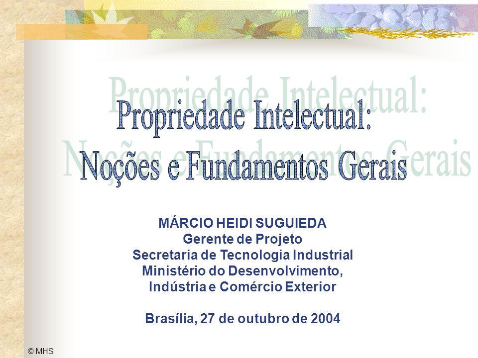 Propriedade Intelectual: Noções e Fundamentos Gerais