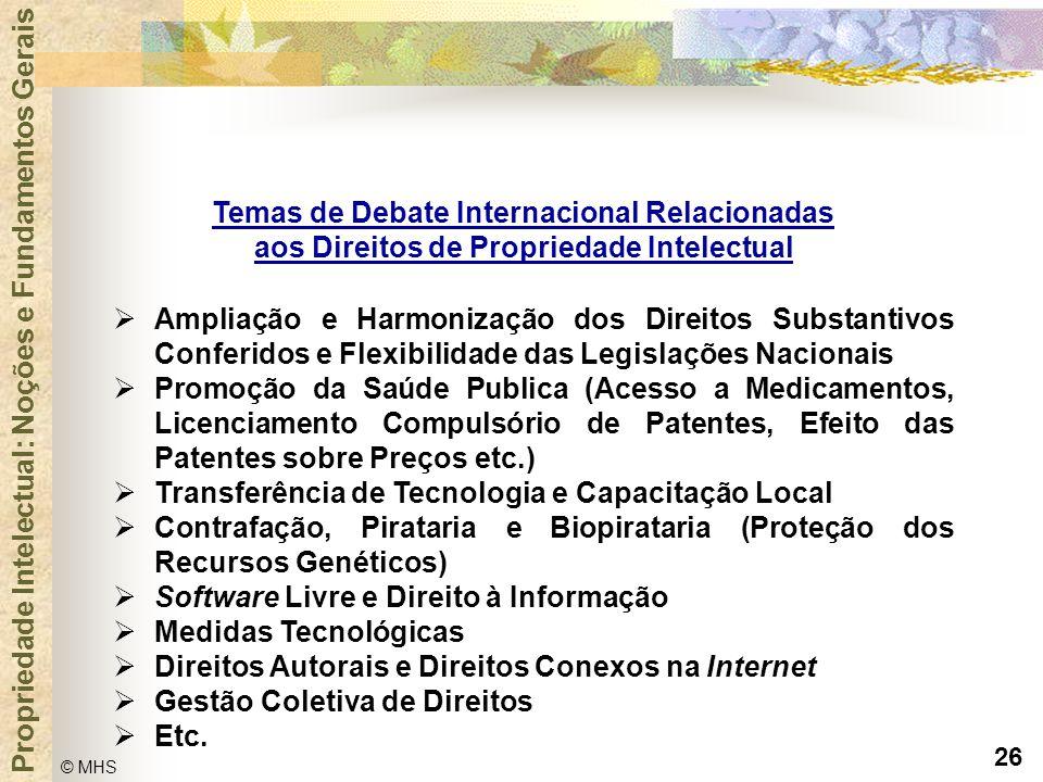 Temas de Debate Internacional Relacionadas