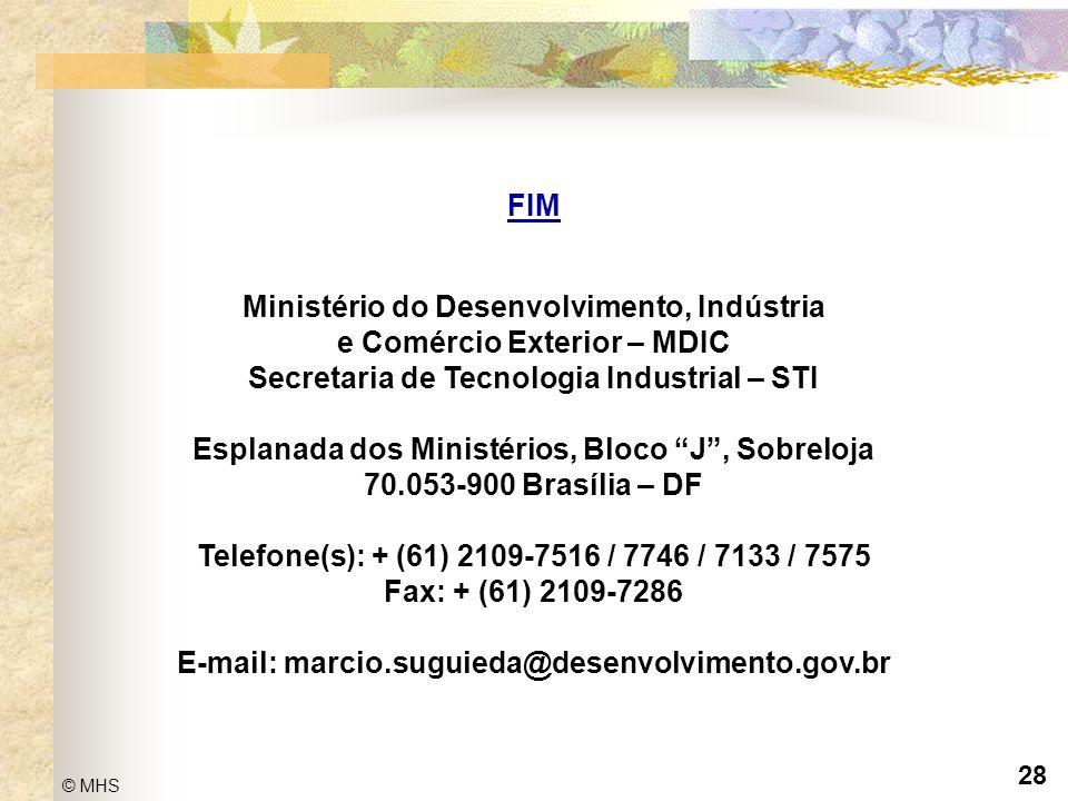 Ministério do Desenvolvimento, Indústria e Comércio Exterior – MDIC
