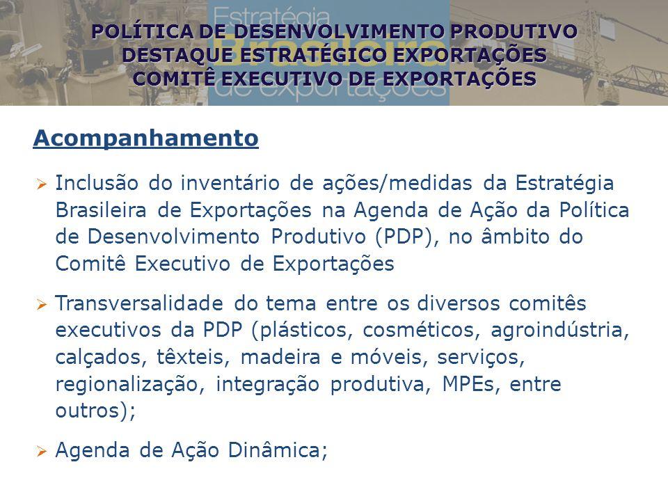 POLÍTICA DE DESENVOLVIMENTO PRODUTIVO