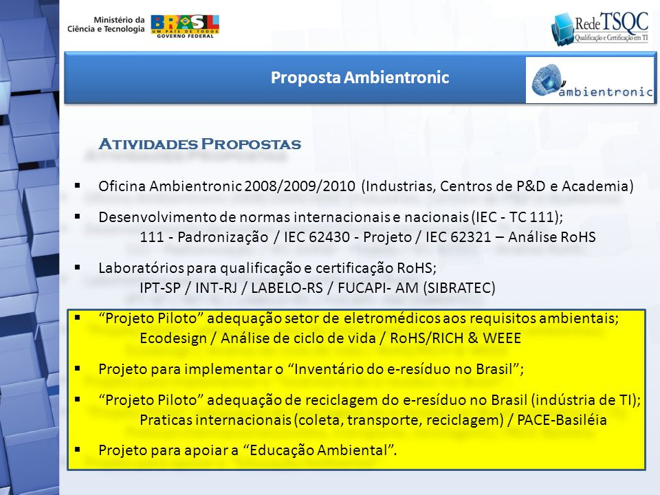 Proposta Ambientronic