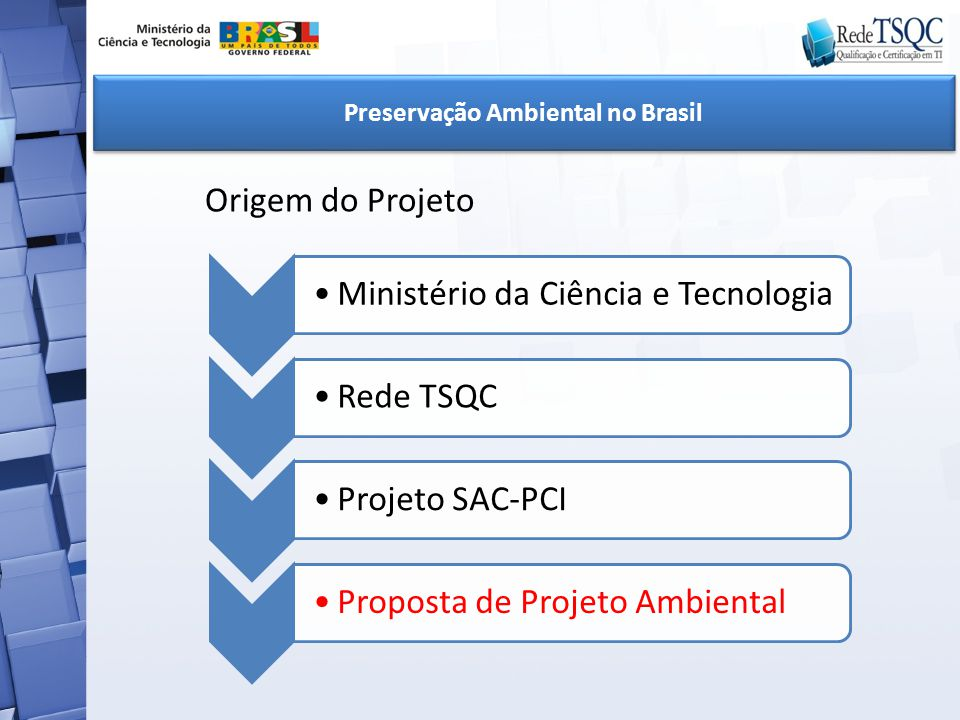 Preservação Ambiental no Brasil